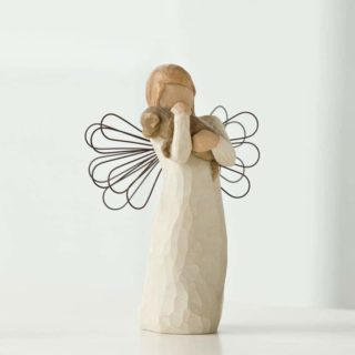 Willow Tree - Angel of Friendship Figurine - For those who share the spirit of friendship