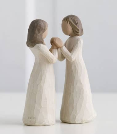 Willow Tree - Sisters by Heart Figurine - Celebrating a treasured friendship of sharing and understanding