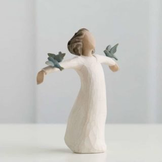 Willow Tree - Happiness Figurine - FREE to sing, laugh, dance... create!