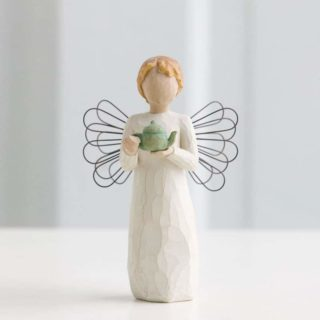 Willow Tree - Angel of the Kitchen Figurine - Warm comfort between friends