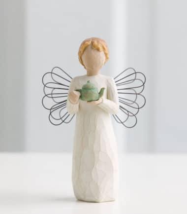 Willow Tree - Angel of the Kitchen Figurine - Warm comfort between friends