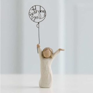 Willow Tree - Birthday Girl Figurine - Celebrate your day!