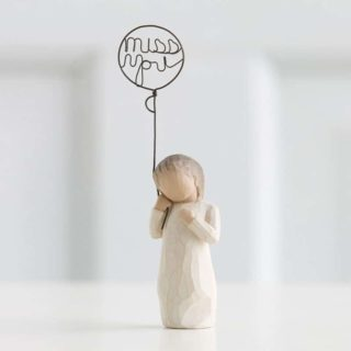 Willow Tree - Miss You Figurine - In my thoughts, in my heart