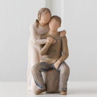 Willow Tree - You and Me Figurine - Every day, building on our love