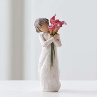 Willow Tree - Bloom Figurine - Like our friendship... vibrant and ever-constant