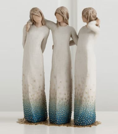 Willow Tree - By my side Figurine- From each other, over the years, we gather strength, through laughter and tears.