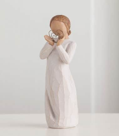 Willow Tree - Lots of Love Figurine - Ever close to my heart