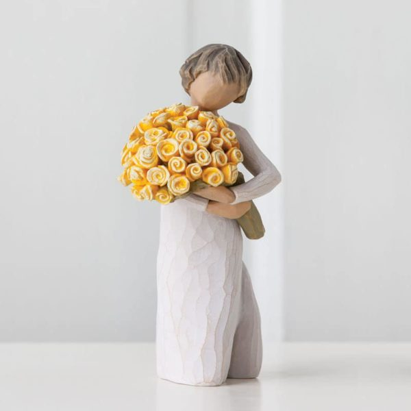 Willow Tree - Good Cheer! Figurine - Wishing you sunny days of happiness