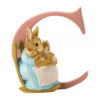 Beatrix Potter Alphabet - Letter C – Mrs. Rabbit and Bunnies
