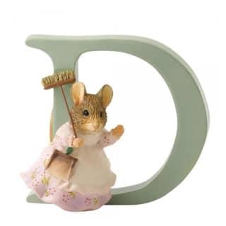 Beatrix Potter Alphabet – Letter D – Hunca Munca Sweeping