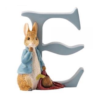 Beatrix Potter Alphabet - Letter E – Peter Rabbit with Onions