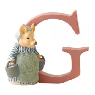 Beatrix Potter Alphabet – Letter G – Aunt Pettitoes
