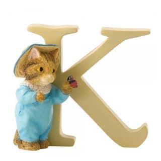 Beatrix Potter Alphabet – Letter K – Tom Kitten