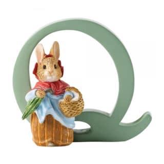 Beatrix Potter Alphabet – Letter Q – Mrs. Rabbit