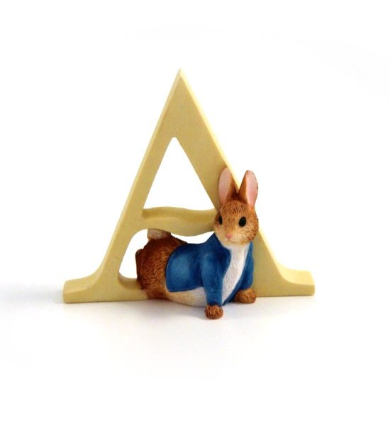 Beatrix Potter Alphabet - Letter A – Peter Rabbit