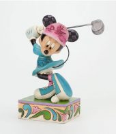 Disney Traditions by Jim Shore - Minnie Mouse I'd Rather Be Golfing Figurine