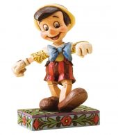 Disney Traditions by Jim Shore - Pinocchio Lively Step Figurine