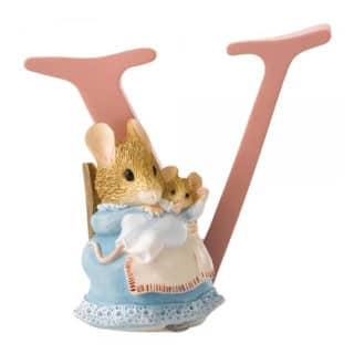 Beatrix Potter Alphabet - Letter V – Hunca Munca and Baby
