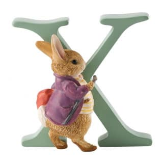 Beatrix Potter Alphabet – Letter X – Old Mr. Benjamin Bunny