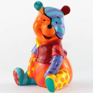 Britto Disney Winnie The Pooh Medium Figurine