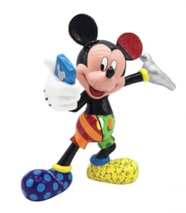 Britto Disney Selfie Mickey Large Figurine