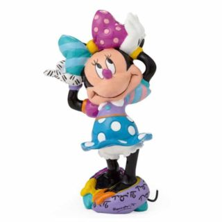 Britto Disney Arms up Minnie Mouse Mini Figurine