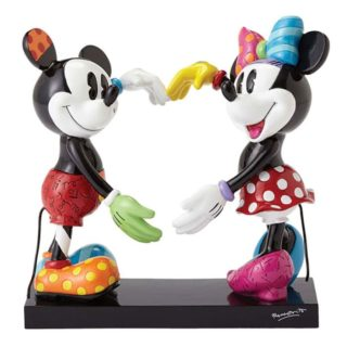 Britto Disney Mickey And Minnie Large Figurine