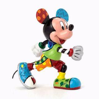 Britto Disney Mickey Mouse Track & Field Medium Figurine