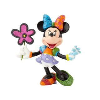 Britto Disney Minnie Mouse with Flower Large Figurine