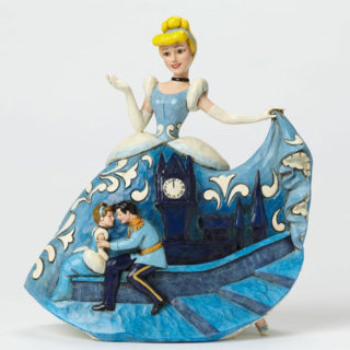 e Disney Traditions - Cinderella 65th Anniversary Fairytale Ending Figurine Jim Shore Disney Traditions – Cinderella 65th Anniversary Fairytale Ending Figurine
