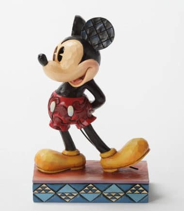 Jim Shore Disney Traditions - Classic Mickey Mouse The original Personality Pose Figurine