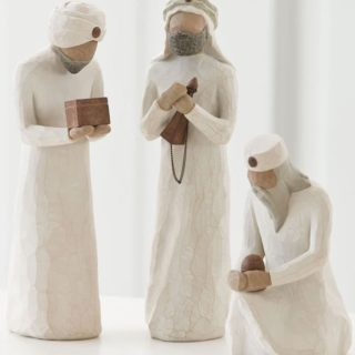Willow Tree Nativity - The Three Wisemen for the Nativity