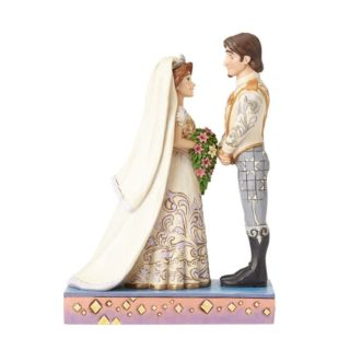 Jim Shore Disney Traditions - Rapunzel & Flynn Wedding Figurine - The Big Day