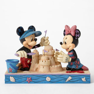 Jim Shore Disney Traditions - Mickey & Minnie Mouse Seaside Sweethearts