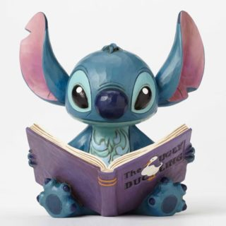 Jim Shore Disney Traditions - Stitch with Story Book - Finding a Family