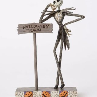 Jim Shore Disney Traditions - Jack Skellington - Welcome to Halloween Town