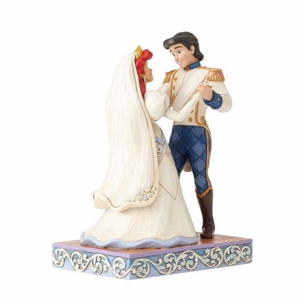 Jim Shore Disney Traditions- Ariel & Prince Eric Wedding Figurine
