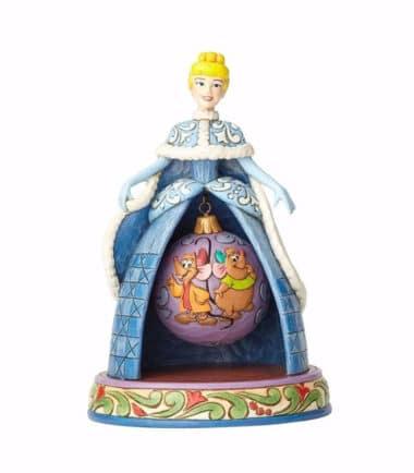 Jim Shore Disney Traditions - Tidings Of Friendship-Cinderella Christmas Figurine