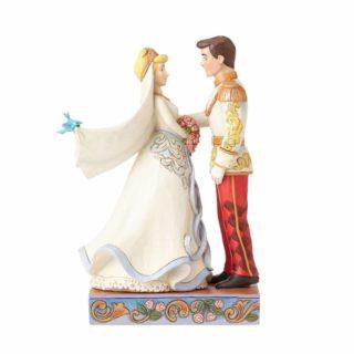 Jim Shore Disney Traditions - Cinderella & Prince Wedding Figurine - Happily Ever After