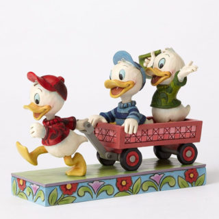 Jim Shore Disney Traditions - Huey Dewey & Louie - Here Comes Trouble