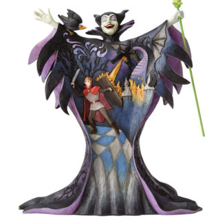 Jim Shore Disney Traditions - Maleficent with Scene - Malevolent Madness
