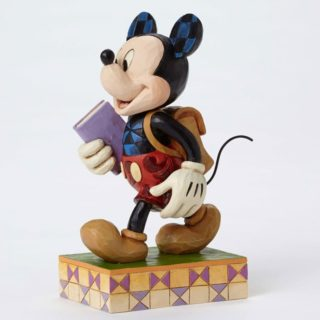 Jim Shore Disney Traditions - Mickey Mouse - Eager to Learn