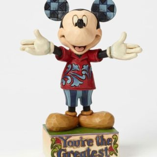 Jim Shore Disney Traditions - Dad Mickey Mouse - You're the Greatest