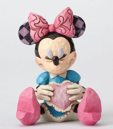 Jim Shore Disney Traditions - Minnie Mouse with Heart Mini Figurine