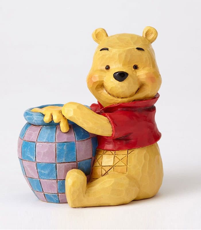 Jim Shore Disney Traditions Winnie The Pooh With Honey Pot