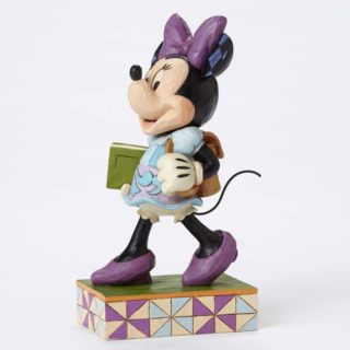 Jim Shore Disney Traditions - Minnie Mouse - Top of the Class