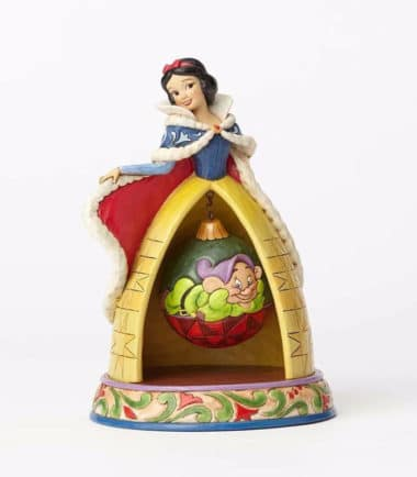 Jim Shore Disney Traditions - Tidings Of Goodwill-Snow White Christmas Figurine