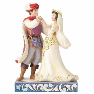 Jim Shore Disney Traditions Snow White & Prince Wedding Figurine