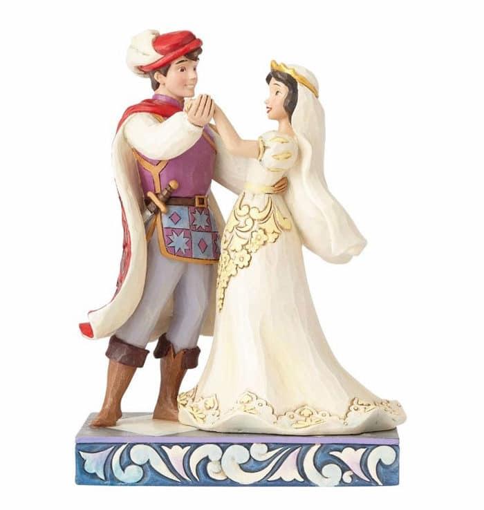 Jim Shore Disney Traditions Snow White & Prince Wedding Figurine