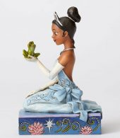Disney Traditions by Jim Shore - Tiana with Frog - Resilient and Romantic